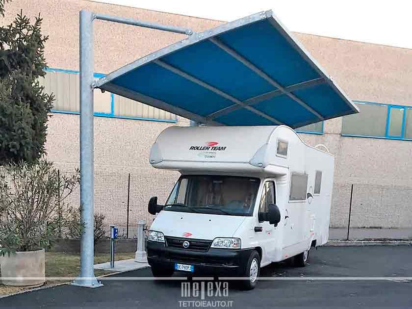 tettoie per parcheggi camper cuneo