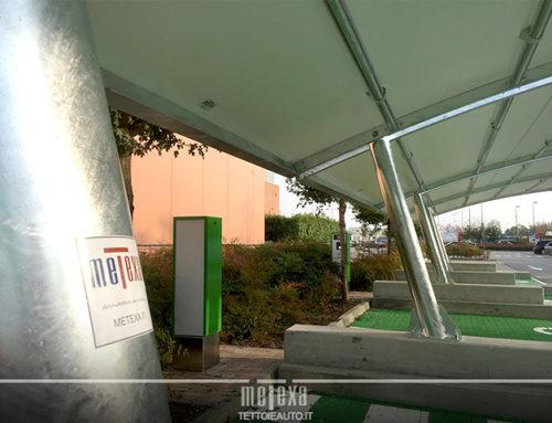 Cinque motivi per scegliere una copertura auto in metallo per parcheggi
