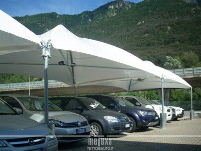 gazebo per concessionati auto