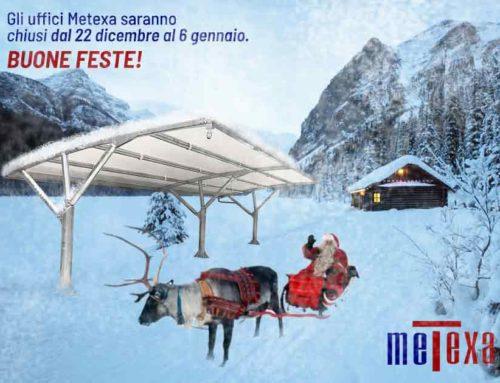 Buon Natale e buon inizio anno a te e alla tua auto da Metexa