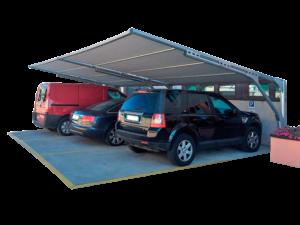 coperture ombreggianti per parcheggi