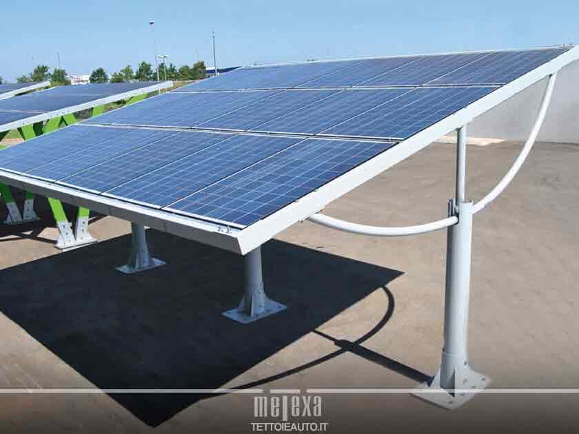 pensiline fotovoltaiche permessi