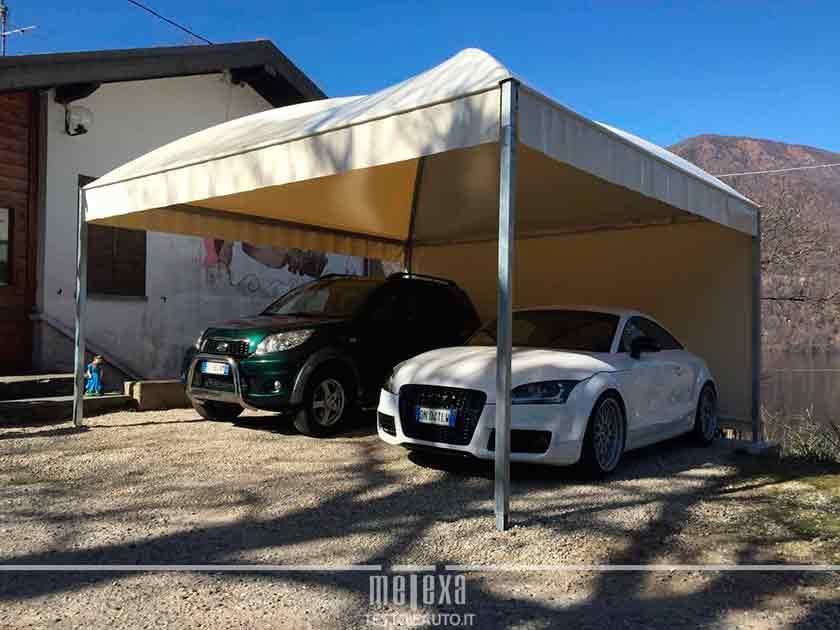 Stunning per auto metexa with gazebo per auto for Gazebo per auto usato