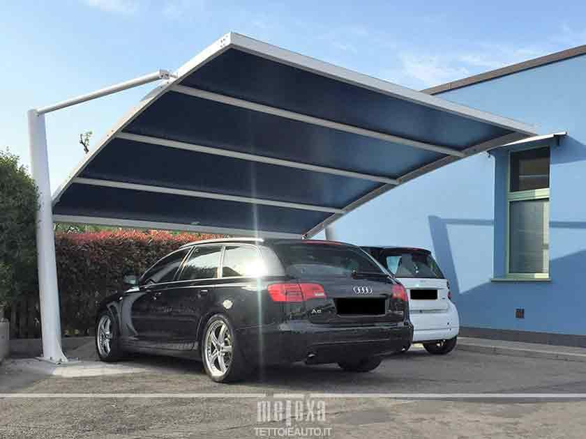copertura posto auto privato in condominio