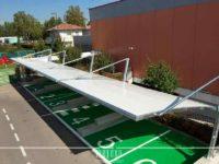 tettoie auto per parcheggi