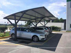 tettoie per auto per aziende modulari