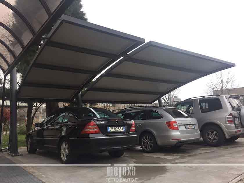 carport copertura auto antigrandine