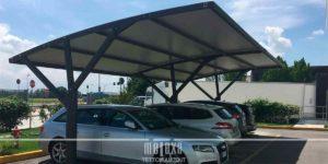 pensiline parcheggi aree di sosta
