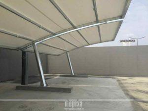 tettoie auto per parcheggio centro commerciale